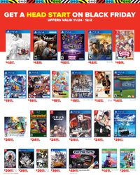 Game Stop - BLACK FRIDAY SALE 2019