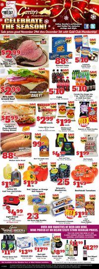 Gerrity's Supermarkets - Cyber Monday 2020