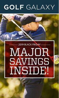 Golf Galaxy BLACK FRIDAY AD 2019