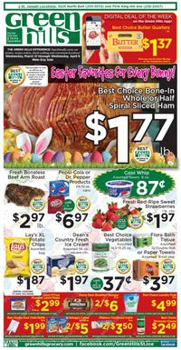 Green Hills Grocery - Easter 2021