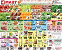 H Mart - Black Friday Ad 2020