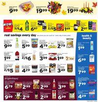 Hannaford Thanksgiving Ad 2020