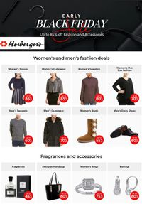 Herberger's - Black Friday Sale Ad 2019
