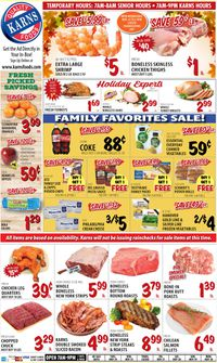 Karns Quality Foods Thanksgiving 2020