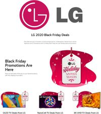 LG Black Friday 2020