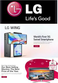 LG Black Friday 2020