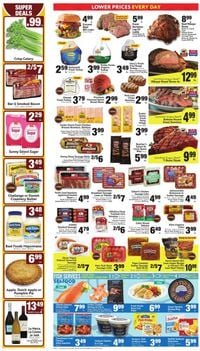 Lucky Supermarkets Thanksgiving ad 2020
