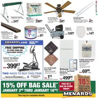 Menards Project Day Sale 2021