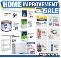 Menards Home Improvement Sale 2021
