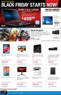 Micro Center Black Friday Ad 2019