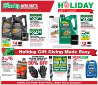 O'Reilly Auto Parts - HOLIDAY GIFT GUIDE 2019