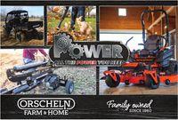 Orscheln Farm and Home Power Equipment 2021