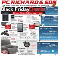 P.C. Richard & Son Black Friday 2019