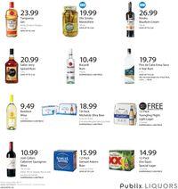 Publix Liquor 2021