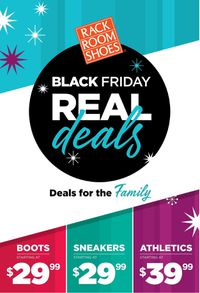Rack Room Shoes - Black Friday Ad 2019