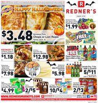 Redner's Warehouse Market HALLOWEEN 2021