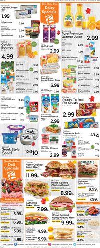Roche Bros. Supermarkets Thanksgiving 2020