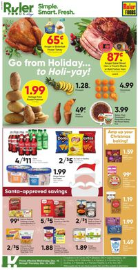 Ruler Foods Christmas Ad 2020