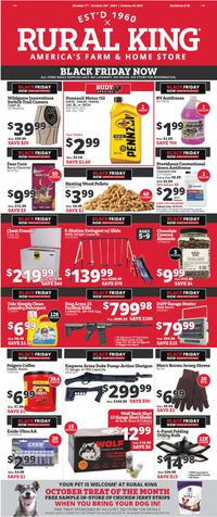 Rural King EARLY BLACK FRIDAY 2021 AD