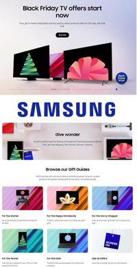 Samsung - Black Friday 2020