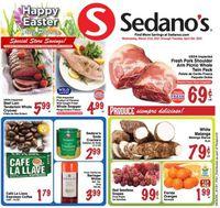 Sedano's Easter 2021 ad