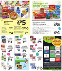 Shoppers Food & Pharmacy Easter 2021 ad