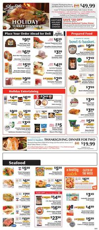 ShopRite Thanksgiving 2020