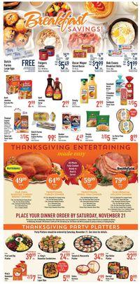 Strack & Van Til Thanksgiving ad 2020