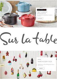 Sur La Table Christmas 2020