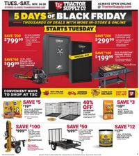 Tractor Supply Black Friday 2020