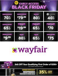 Wayfair Black Friday 2020