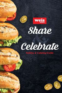 Weis Entertaining Guide 2020
