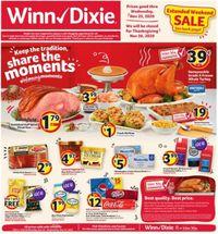 Winn Dixie Thanksgiving 2020