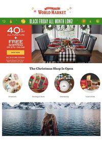 World Market Christmas Ad 2019