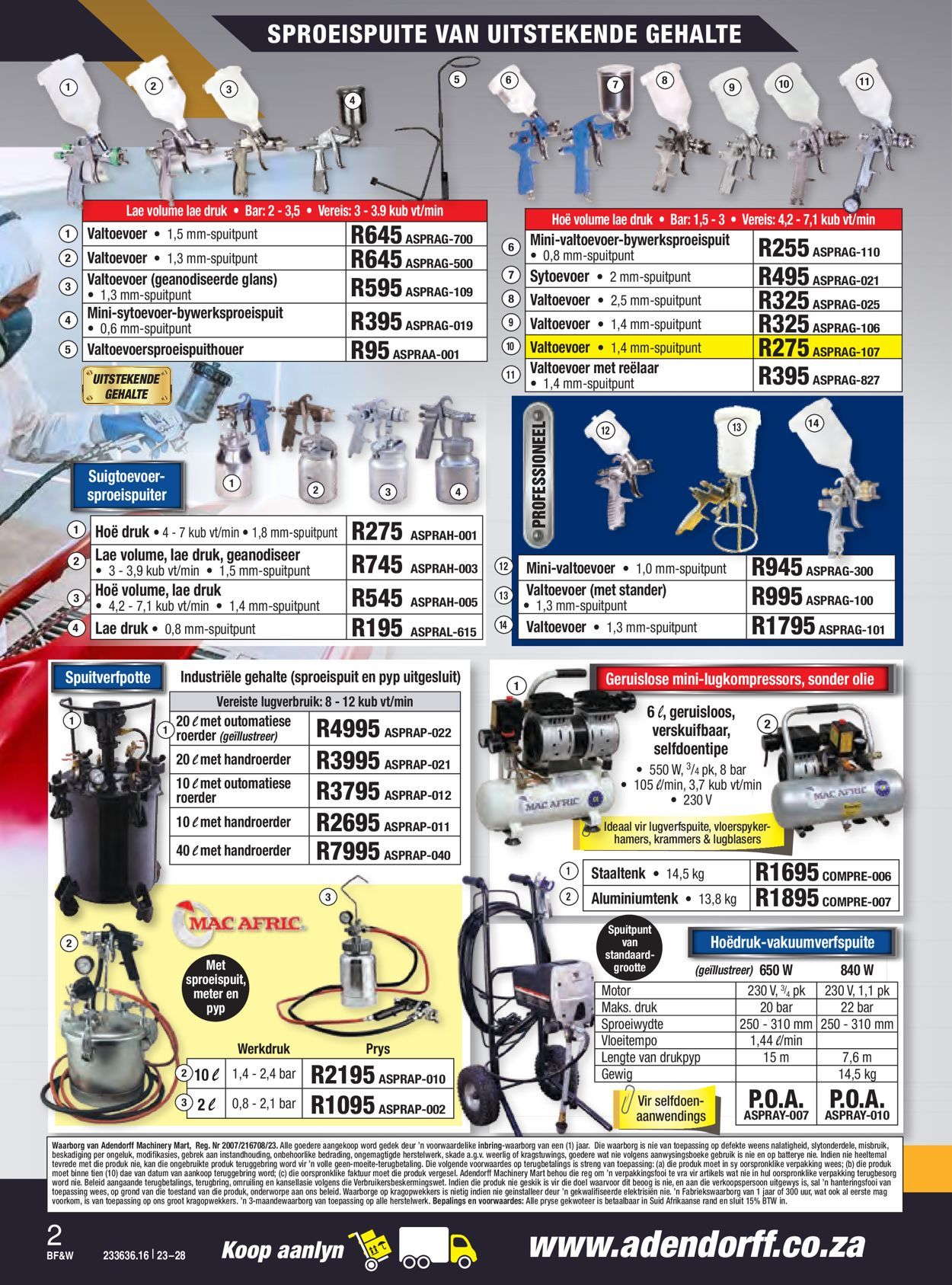 Adendorff Machinery Mart Black Friday 2020 Catalogue - 2020/11/23-2020/11/28 (Page 3)