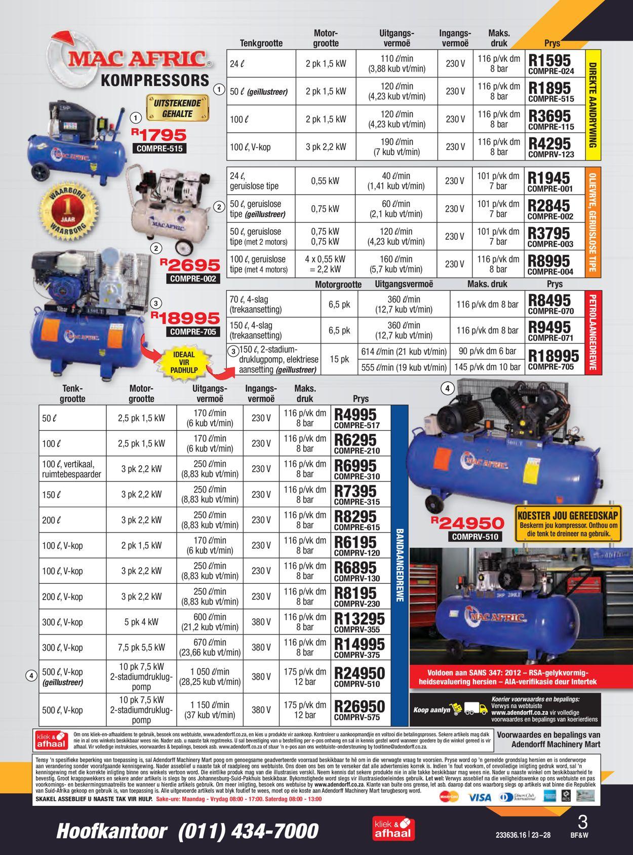 Adendorff Machinery Mart Black Friday 2020 Catalogue - 2020/11/23-2020/11/28 (Page 4)