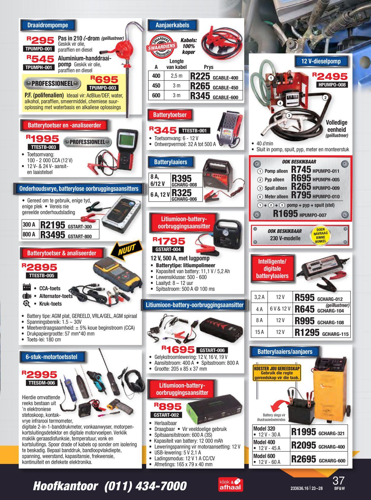 Adendorff Machinery Mart Black Friday 2020 Catalogue - 2020/11/23-2020/11/28 (Page 38)