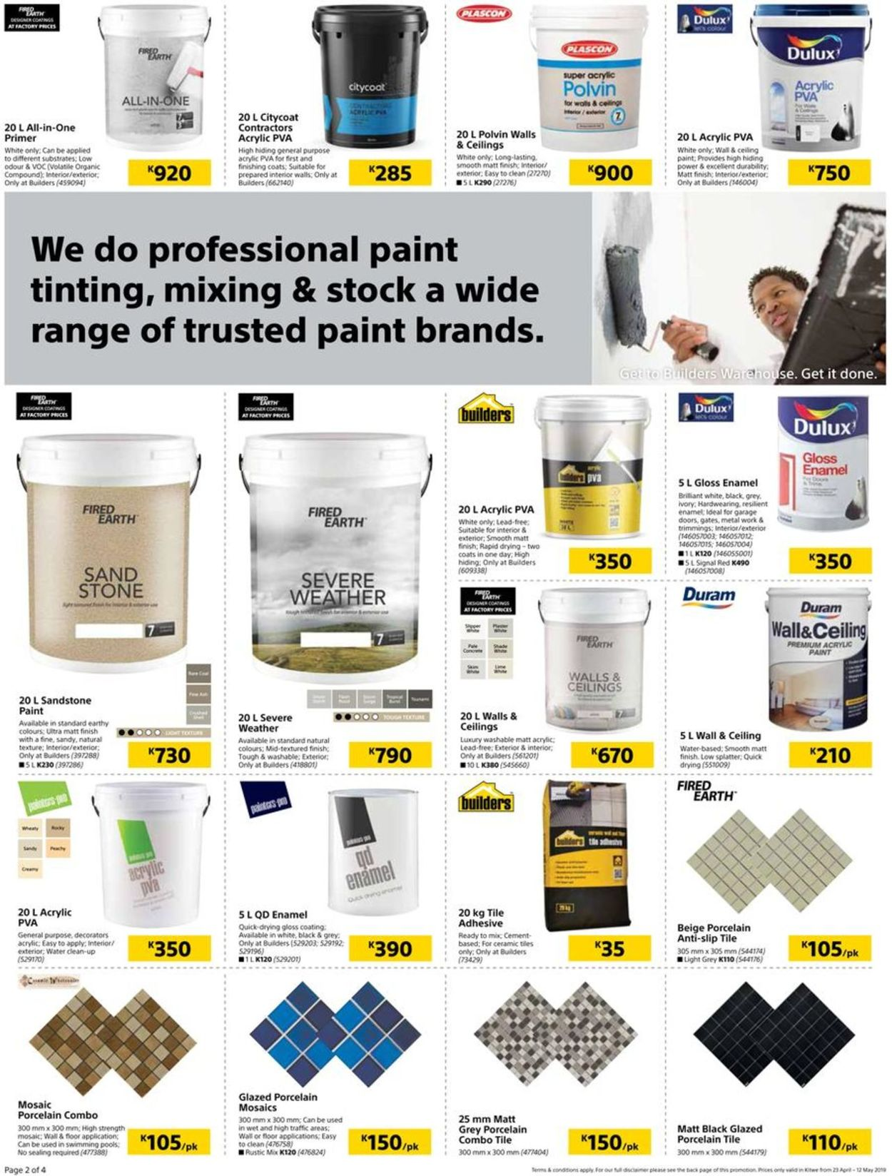 Builders Warehouse Catalogue - 2019/04/23-2019/05/12 (Page 2)