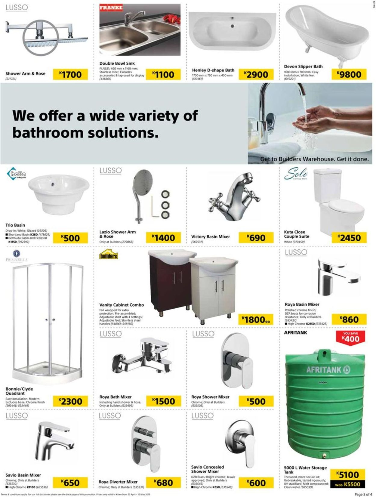 Builders Warehouse Catalogue - 2019/04/23-2019/05/12 (Page 3)
