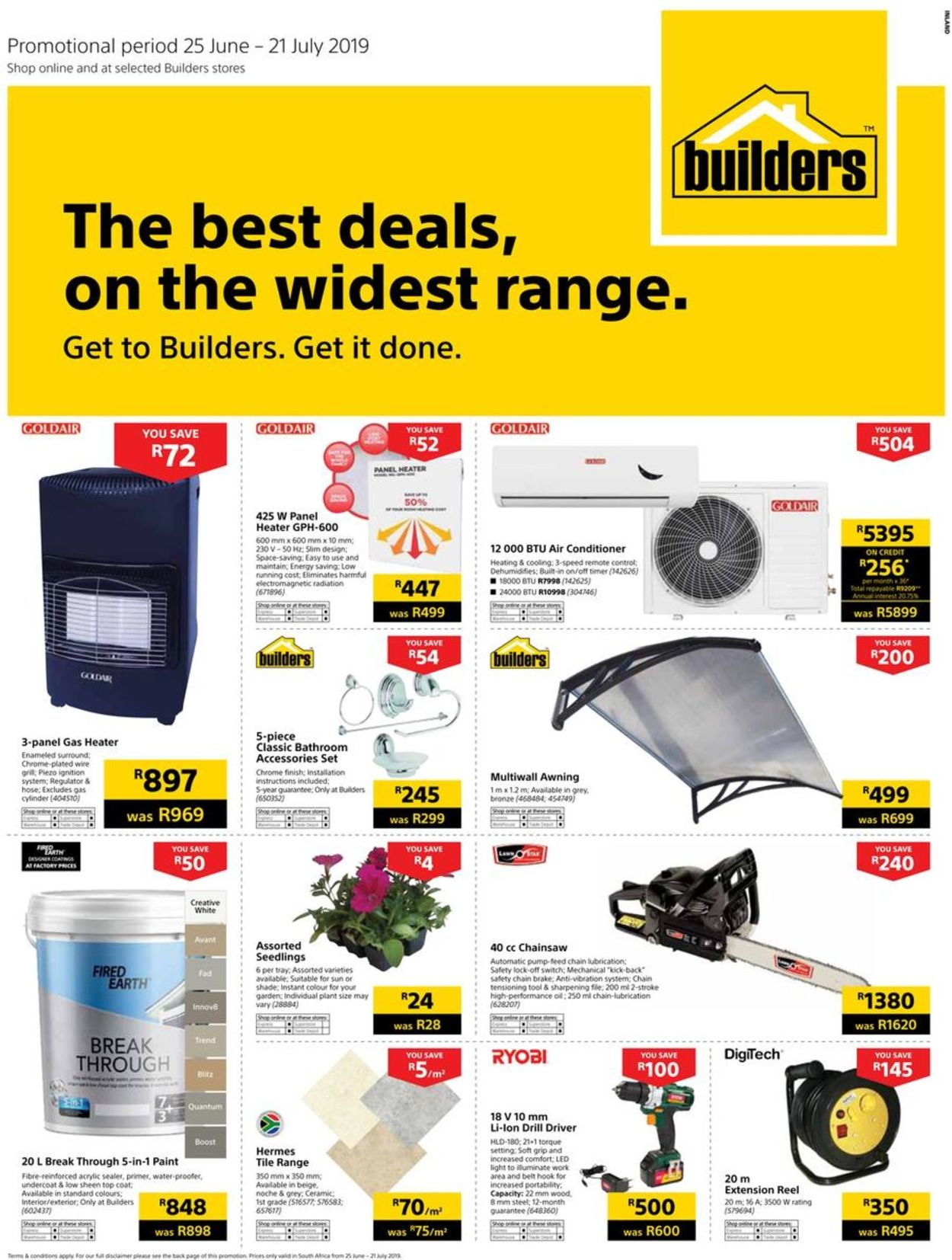 Builders Warehouse Catalogue - 2019/06/25-2019/07/21 (Page 2)
