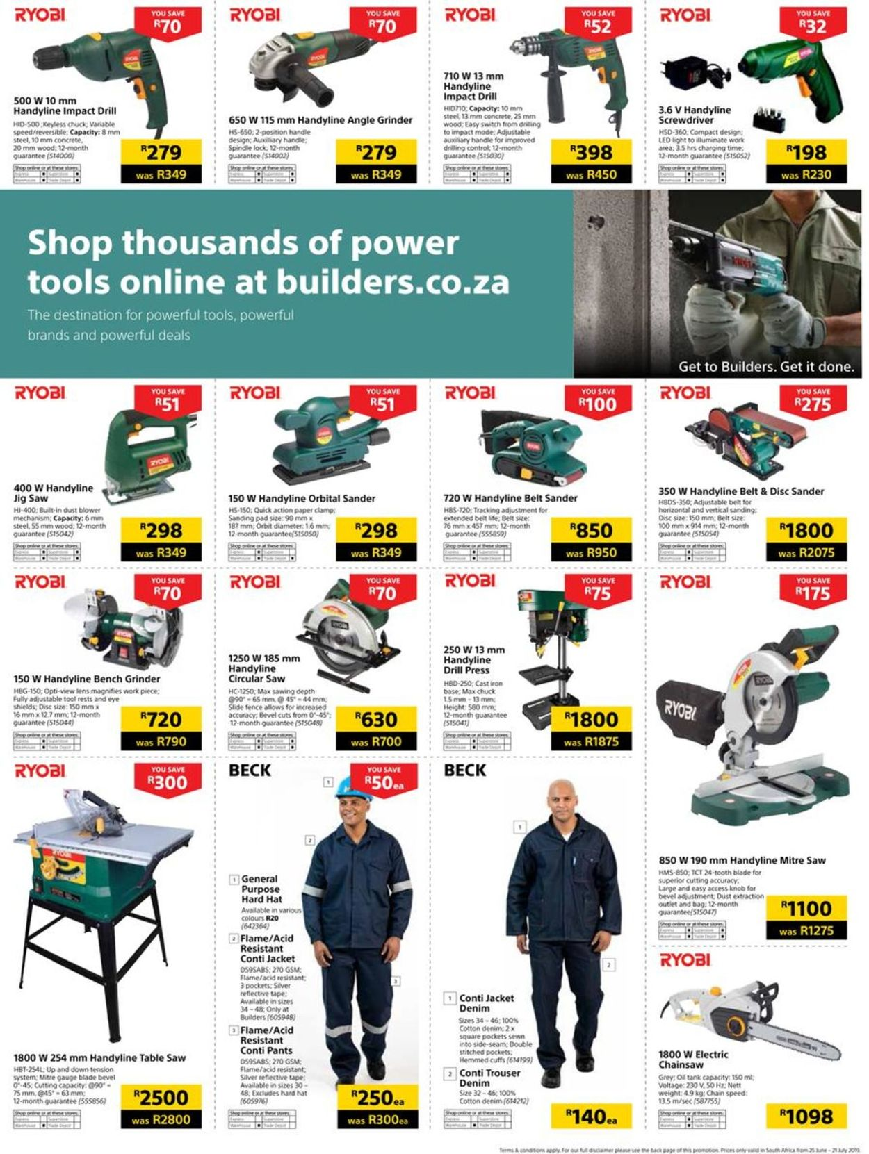 Builders Warehouse Catalogue - 2019/06/25-2019/07/21 (Page 127)