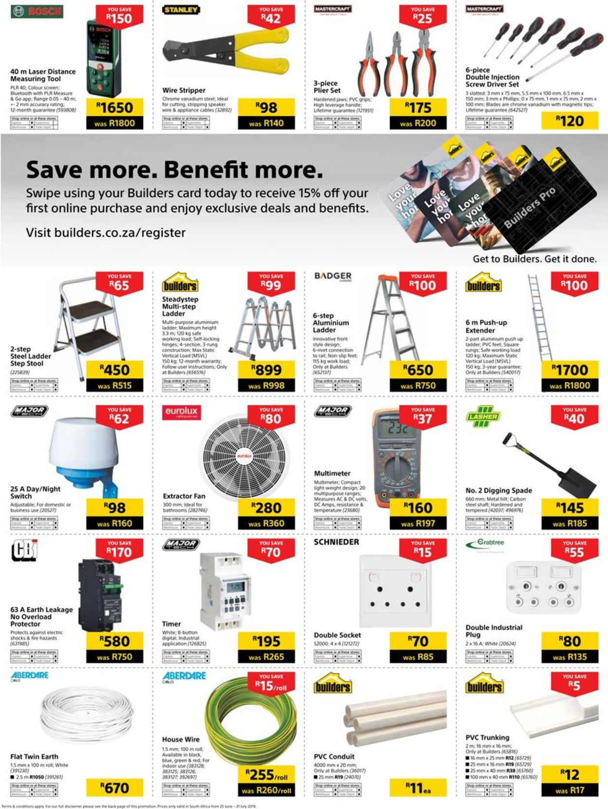 Builders Warehouse Catalogue - 2019/06/25-2019/07/21 (Page 128)