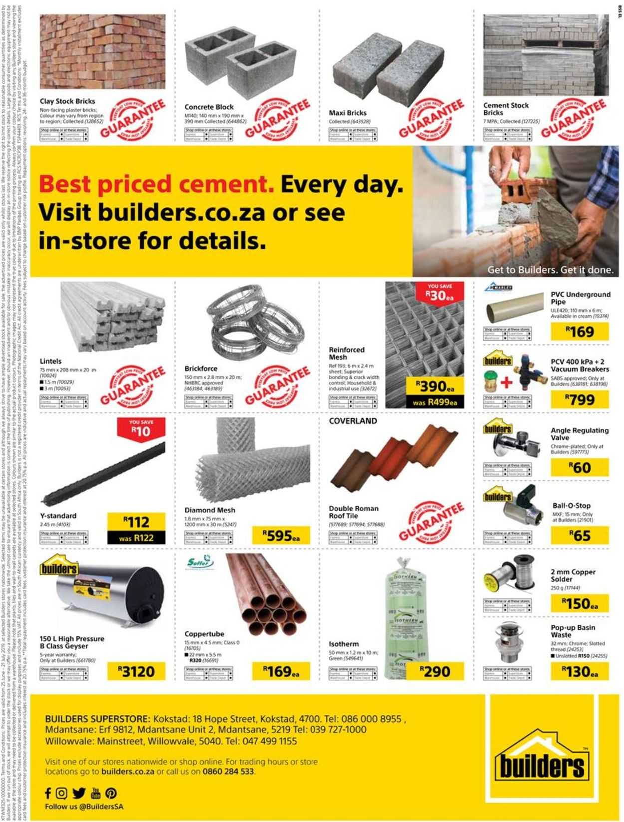 Builders Warehouse Catalogue - 2019/06/25-2019/07/21 (Page 129)