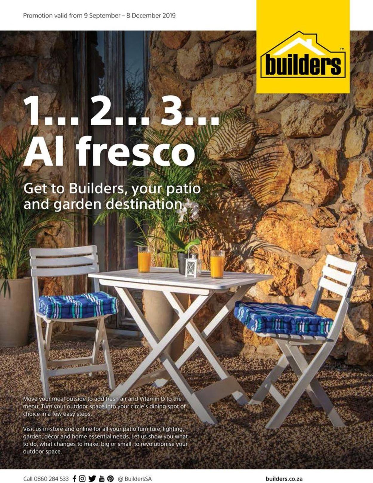 Builders Warehouse Catalogue - 2019/09/09-2019/12/08