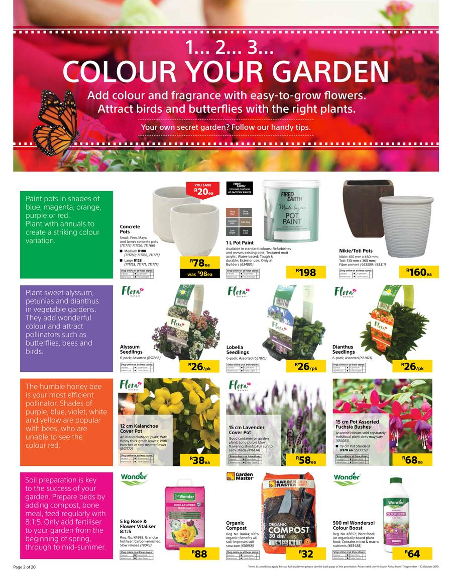 Builders Warehouse Catalogue - 2019/09/17-2019/10/20 (Page 2)