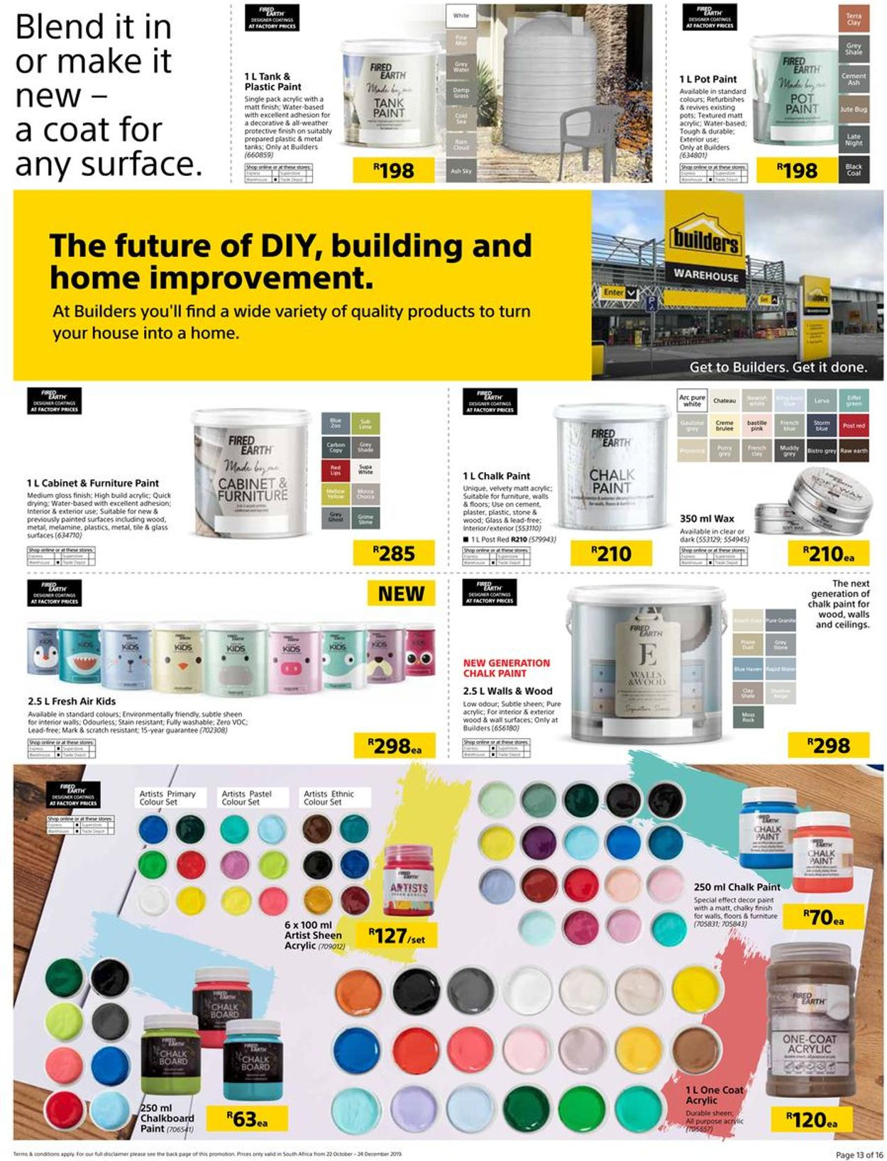 Builders Warehouse Catalogue - 2019/10/22-2019/12/24 (Page 13)