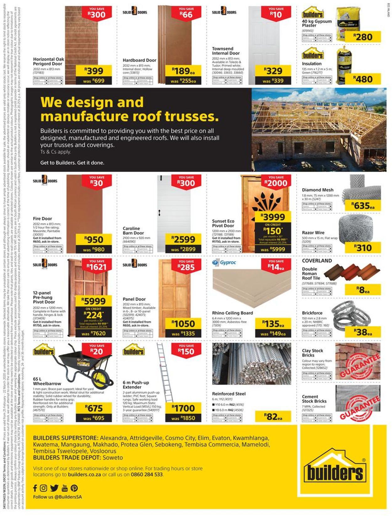 Builders Warehouse Catalogue - 2020/02/25-2020/03/22 (Page 65)
