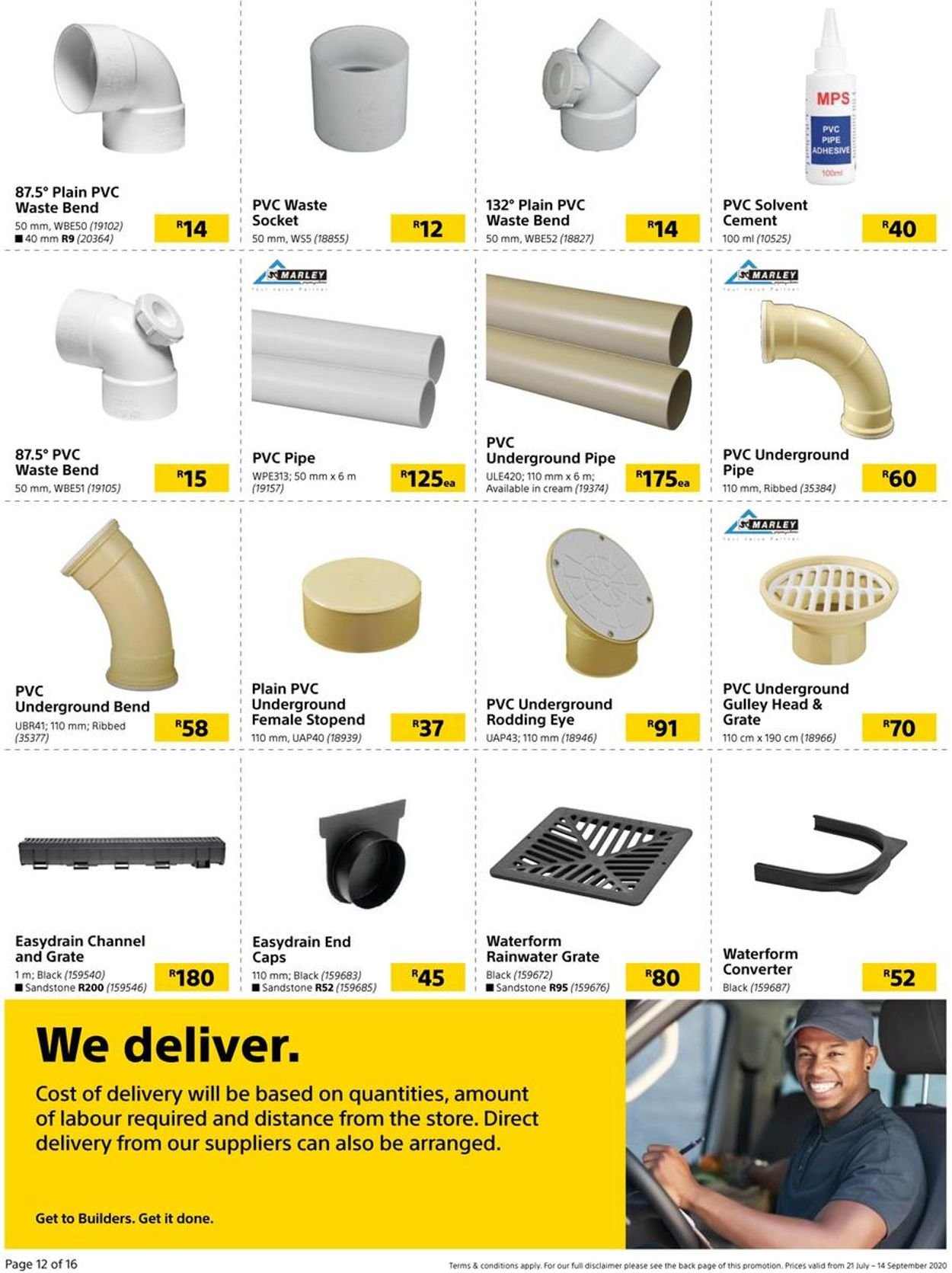 Builders Warehouse Catalogue - 2020/07/21-2020/09/14 (Page 12)