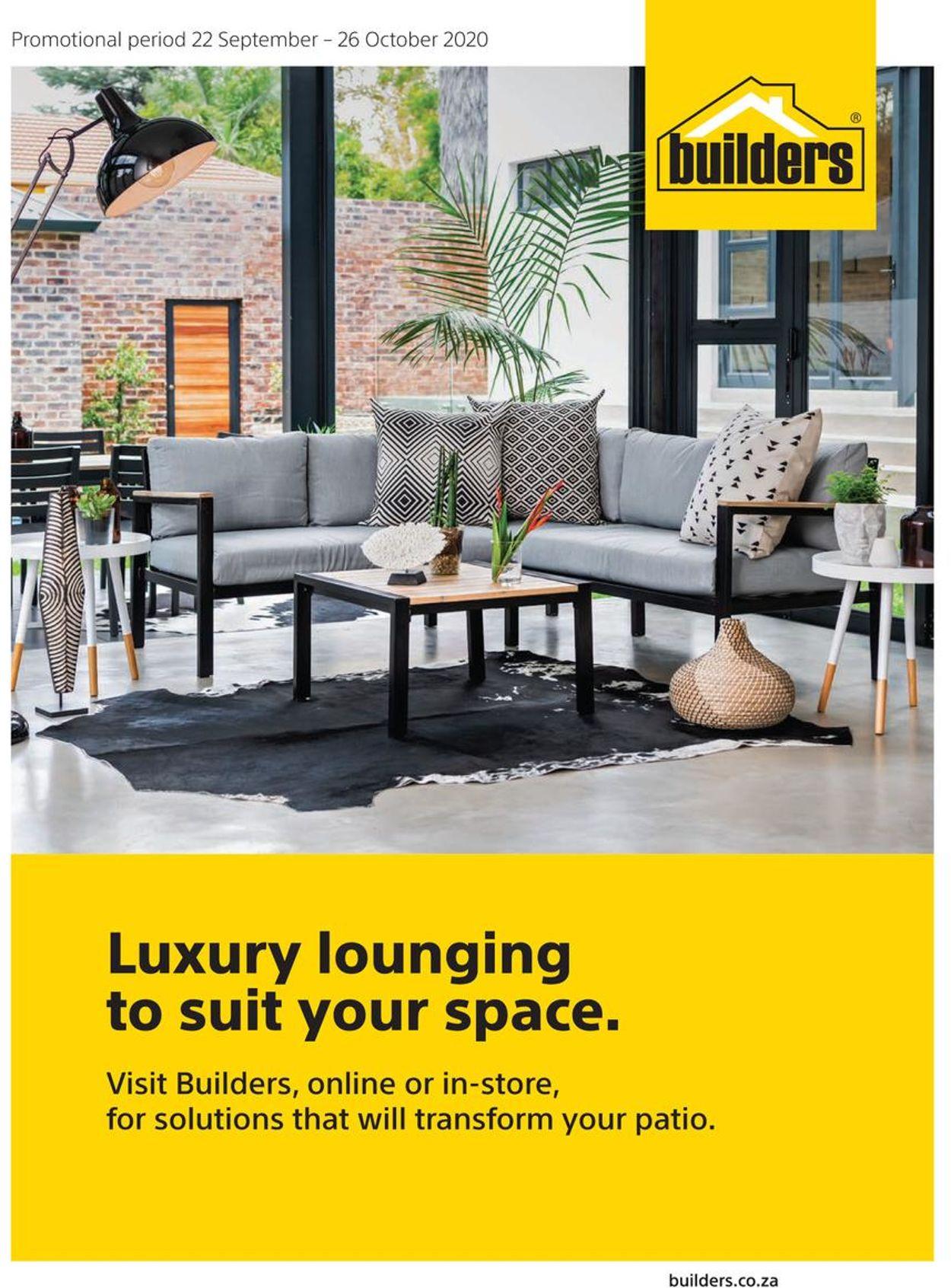 Builders Warehouse Catalogue - 2020/09/22-2020/10/26