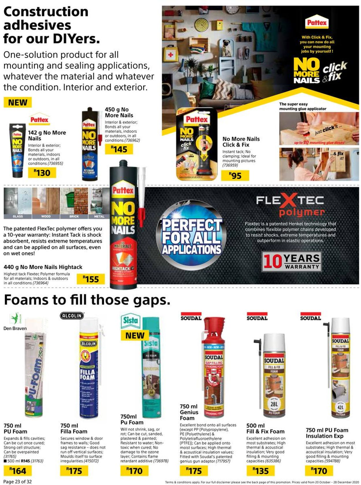 Builders Warehouse Catalogue - 2020/10/20-2020/12/28 (Page 23)